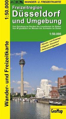 GeoMap Karte Freizeitregion Düsseldorf und Umge...