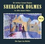 Die Spur ins Nichts / Sherlock Holmes - Neue Fälle Bd.20 (Audio-CD)