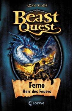 Ferno, Herr des Feuers / Beast Quest Bd.1 (eBook, ePUB) - Blade, Adam