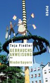 Gebrauchsanweisung für Niederbayern (eBook, ePUB)