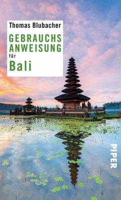 Gebrauchsanweisung für Bali - Blubacher, Thomas