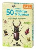 50 heimische Insekten & Spinnen entdecken & bestimmen, 50 Ktn.