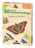 Moses MOS09722 - Expedition Natur: 50 heimische Schmetterlinge, Lernkarten