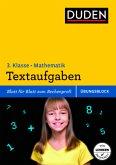 Übungsblock: Mathematik - Textaufgaben 3. Klasse