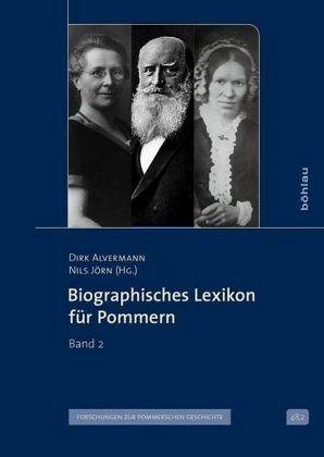 Biographisches Lexikon für Pommern Band 2