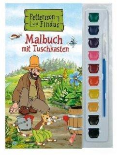 Pettersson und Findus, Malbuch mit Tuschkasten