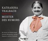 Katharina Thalbach trifft die Meister des Humors, 4 Audio-CDs