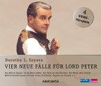 Vier neue Fälle für Lord Peter, 4 Audio-CDs