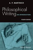 Philosophical Writing, 4e P