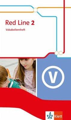 Red Line 2. Vokabellernheft. Ausgabe 2014