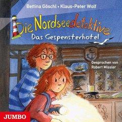 Das Gespensterhotel / Die Nordseedetektive Bd.2 (Audio-CD) - Wolf, Klaus-Peter; Göschl, Bettina