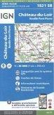 IGN Karte, Serie Bleue Top 25 Château du Loire