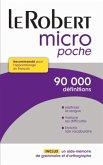 Dictionnaire Le Robert Micro poche