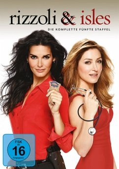 Rizzoli & Isles - Die komplette 5. Staffel (4 Discs) - Angie Harmon,Sasha Alexander,Jordan Bridges