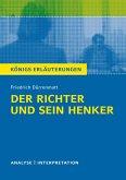 Der Richter und sein Henker von Friedrich Dürrenmatt. (eBook, ePUB)