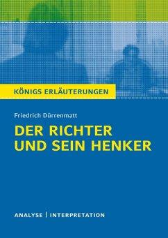 Der Richter und sein Henker von Friedrich Dürrenmatt. (eBook, ePUB) - Dürrenmatt, Friedrich