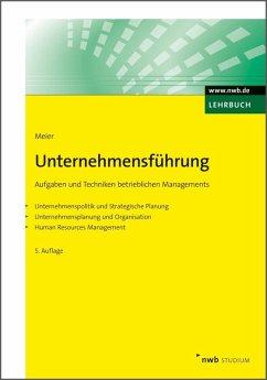 Unternehmensführung (eBook, ePUB) - Meier, Harald