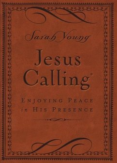 Jesus Calling - Deluxe Edition Brown Cover