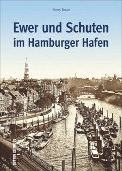Ewer und Schuten im Hamburger Hafen - Braun, Harry