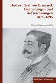 Erinnerungen und Aufzeichnungen 1871-1895