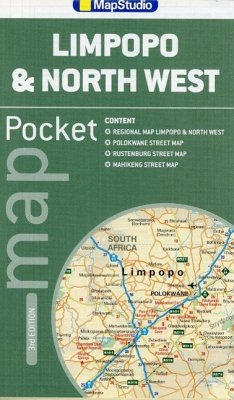 Limpopo & North West Pocket Map 1 : 1 800 000