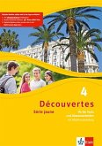 Découvertes Série jaune 4. Fit für Tests und Klassenarbeiten. Arbeitsheft mit Lösungen und Audio-CD