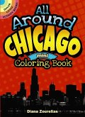 All Around Chicago Mini Coloring Book