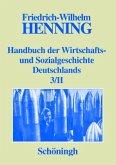 Handbuch der Wirtschafts- und Sozialgeschichte Deutschlands Bd. 1-3/II