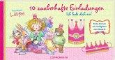 Prinzessin Lillifee - 10 zauberhafte Einladungen, Einladungskarten