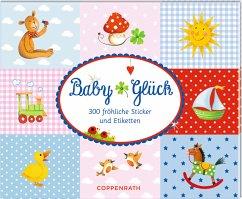 Stickerbuch - Baby Glück