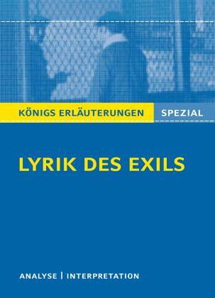 Lyrik des Exils.