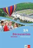 Découvertes Série bleue 3 und 4. 99 Wortschatzübungen. ab Klasse 7