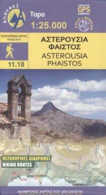 9789609412360 - Wanderkarte Asterousia, Phaistos - Το βιβλίο