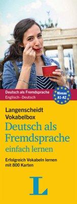 Langenscheidt Vokabelbox Deutsch als Fremdsprac...