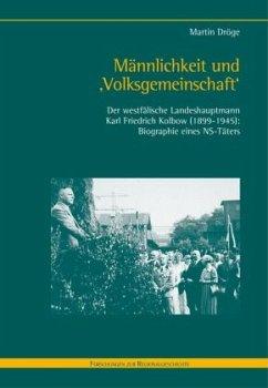 Männlichkeit und 'Volksgemeinschaft' - Dröge, Martin