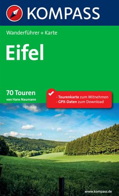 Kompass Wanderführer Eifel (eBook, PDF)
