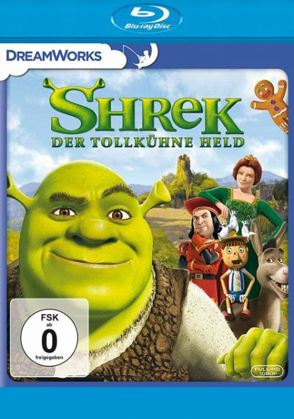 shrek der tollk hne held film auf blu ray disc. Black Bedroom Furniture Sets. Home Design Ideas