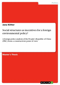 Social structures as incentives for a foreign environmental policy? (eBook, PDF)