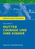 Mutter Courage und ihre Kinder von Bertolt Brecht. (eBook, ePUB)