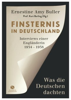 Finsternis in Deutschland - Buller, Ernestine Amy