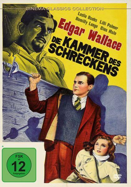 Edgar wallace die kammer des schreckens film auf dvd for Action romilly