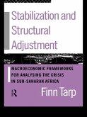 Stabilization and Structural Adjustment (eBook, ePUB)