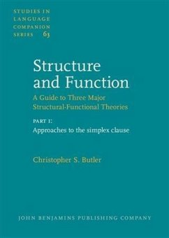 Structure and Function - A Guide to Three Major Structural-Functional Theories (eBook, PDF) - Butler, Christopher S.