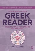 The Routledge Modern Greek Reader (eBook, ePUB)