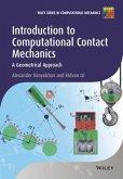 Introduction to Computational Contact Mechanics (eBook, ePUB)