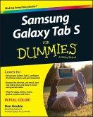 Samsung Galaxy Tab S For Dummies (eBook, PDF)