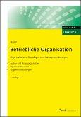 Betriebliche Organisation (eBook, ePUB)