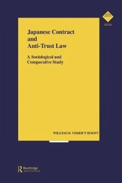 Japanese Contract and Anti-Trust Law - t'Hooft, Willem Visser