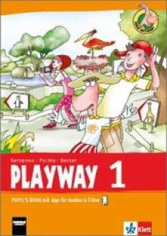 Playway ab Klasse 1. 1.Schuljahr. Pupil´s Book m. App