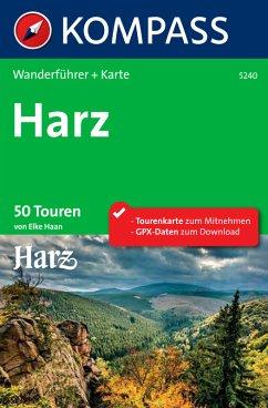 Kompass Wanderführer Harz (eBook, PDF)